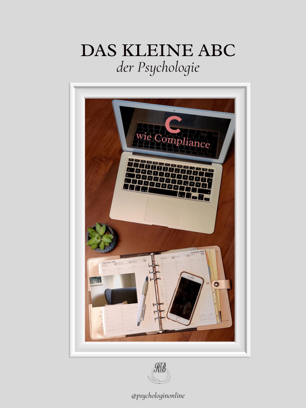 Psycho-ABC: C wie Compliance